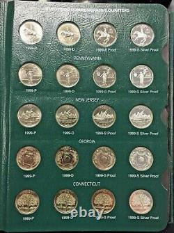 100 State Quarters 1999-2003 BU, Proof, Silver Proof in Intercept