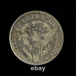 1805 25c Draped Bust Silver Quarter Dollar United States Early Type Coin