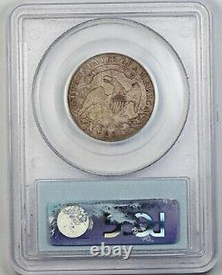 1821 PCGS F 12 United States / American 25c Capped Bust Quarter