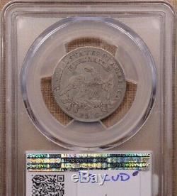 1825/4 (2) B. 3 Rare CUD die state Bust quarter, PCGS F15 DavidKahnRareCoins