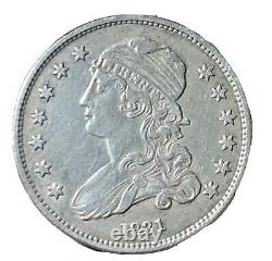 1831 Capped Bust Silver Quarter Sharp High Grade United States Coin