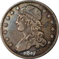1835 Capped Bust Quarter Nice XF Browning 4 Early-Mid Die State