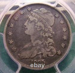1835 P United States Bust Silver Quarter Pcgs Graded Vf30