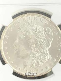 1883 CC United States $1 Morgan Dollar NGC MS63 BU UNC Graded Carson City #7015