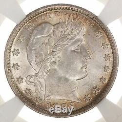 1892 Barber 25C NGC CAC Certified MS62 US Mint State Graded Silver Quarter Coin