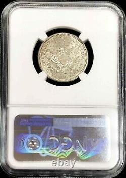 1905 Silver United States Barber Quarter 25c Coin Ngc Mint State 62