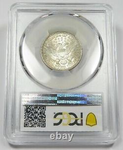 1909-P PCGS MS65 Mint State Silver Barber Quarter 25c Coin #25877B