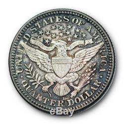 1916 D 25C Barber Quarter Uncirculated Mint State Proof Like! #QT9