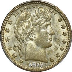 1916-D Barber Quarter MS / Mint State 63, PCGS 25C C00034531