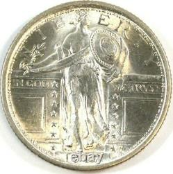 1917 Type 1 Standing Liberty 25¢ Silver Quarter (. 900 SILVER) MINT STATE UNC