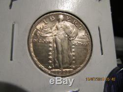 1923-P Standing Liberty Quarter Mint State +++++