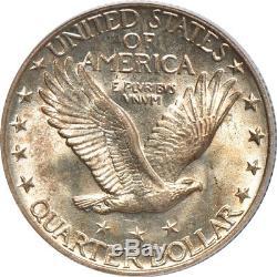 1925 Standing Liberty Quarter MS / Mint State 65, PCGS 25C C40580