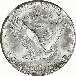 1928-S NGC 25C Silver Standing Liberty Quarter Mint State UNC MS64