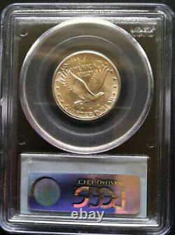 1928 Standing Liberty Quarter 25c PCGS Mint State MS 64 White Flashy Luster