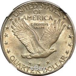 1930 Standing Liberty Quarter MS / Mint State 64 Full Head, NGC 25C C00036493