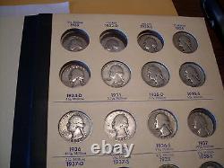 1932/1964 P-D-S Washington Quarter Set Fine / Mint State +++++ (68) Coins