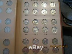 1932/'64 P-D Washington Quarter Collection F-Mint State +++++ 79 Coins