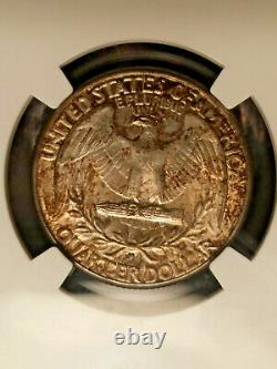 1932-D UNC Washington Quarter NGC Mint State 61 BU Highly Demanded Key Date
