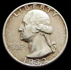1932 S Silver United States Washington Quarter Coin About Uncirculated