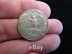 1932-S United States Washington Silver Quarter AU Almost Uncirculated