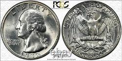 1932 S Washington Quarter 25c Pcgs Certified Ms 63 Mint State Unc (101)