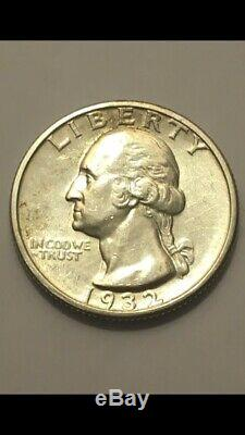 1932-S Washington Quarter, Very Nice Gem BU++ Better Date Could Be Mint State