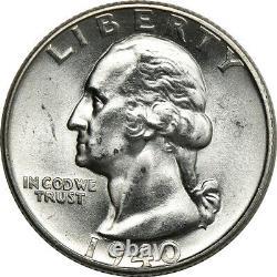 1940-D Washington Quarter, Mint State, 25c C00053009