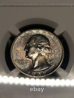1948 P-D-S NGC MS 65,64,66 Silver Washington Quarter Set CERTIFIED MINT STATE