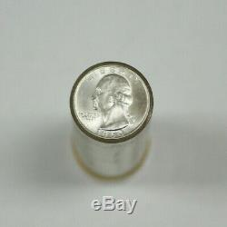 1960-D United States Roll of Silver Washington Quarters 40 Coins Total