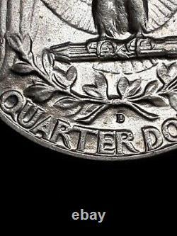 1963-D/D DDR & RPM Washington Quarter. In Original State! BU HG Coin Rare Error