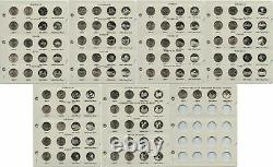 1968-1998 PDS and Complete 1999-2009 State & Territory Quarter Set 323 Coins