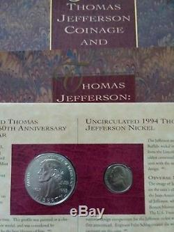 1997 United States Botanic Garden Coinage And Currency Set Lot