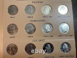 1998 2008 Complete set State Quarters with Bonus Territories 2009. 224 Coins