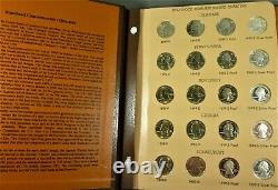 1999-2003 Statehood Quarter Set in Dansco Album BU P & D+ Proofs+ Silver Proofs