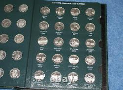 1999-2008PDS + Silver Statehood Quarter Complete 200 Coin Intercept Shield E0742