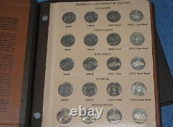 1999-2008PDS & Silver Statehood Quarter Complete 200 Coin Set in Dansco E0738