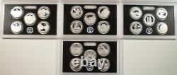1999 2008 2009 2010 2011 2012 2013 2014 Silver Proof State Territory Quarters