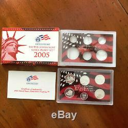 1999-2008-2009 Silver Proof Statehood Quarter 56 Pc Set Collecction-Boxes/COA's