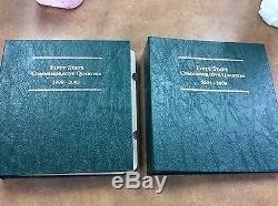 1999-2008 PDS & Silver Statehood Quarter set 200 Coins in 2 Littleton Albums
