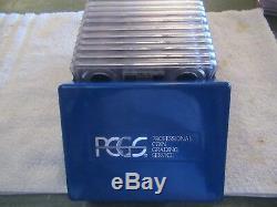 1999-2008 S Silver Proof State Quarter Set Pcgs Pf69