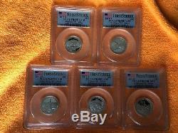 1999-2008-S Silver State Quarter Set 66 Coins PCGS PR69 DCAM PLUS 2009 2010 2011
