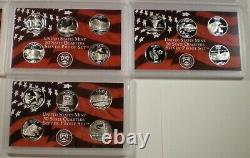 1999 2008 Silver Proof State Quarter Sets FREE Shipping