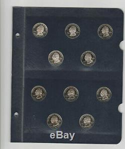 1999-2008 Statehood Quarters Comp. Proof Set of 50 Coins Whitman Classic Album