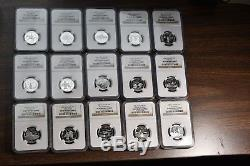 1999-2008 Statehood Quarters Complete Set Silver NGC PF69 ULTRA CAM