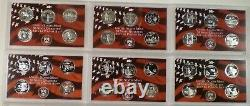 1999 2008 and 2009 2010 Silver Proof State and Territory Quarters