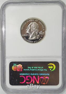 1999 S 1st State Quarter Delaware PF70 Silver Proof Ultra Cameo