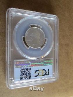 1999-S 25c Delaware SILVER Blue Label Quarter Proof PCGS PR70DCAM