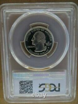 1999-S 25c Delaware SILVER State Blue Label Quarter Proof PCGS PR70DCAM