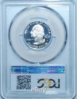 1999 S PCGS PR70DCAM Silver DE Delaware State Washington Quarter