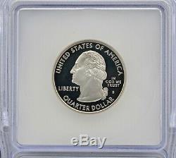 1999-S PR70 DCAM Silver Delaware State Washington Quarter ICG Certified